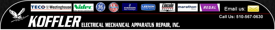 Koffler Electrical Apparatus Repair & Electric Motor Sales