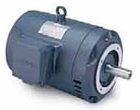 Leeson Three Phase C Face Less Base Drip-Proof Motors Secondary