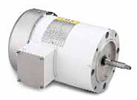 Leeson Three Phase TEFC C Face Less Base Jet Pump Washguard Motors