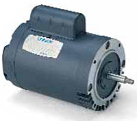 Leeson Threaded Shaft Drip-Proof Single Phase Less Base Jet Pump Motors