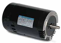 Leeson Keyed Shaft C Face Less Base Single Phase PSC Drip-Proof Pool and Jet Pump Motor