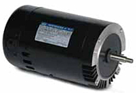 Leeson Threaded Shaft C Face Less Base Single Phase PSC Drip-proof Pool and Jet Pump Motor