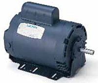 Leeson Drip-Proof Single Phase Resilient Base Motors