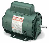 Leeson Wattsaver® Premium Efficiency Fan Drip-proof Single Phase Resilient Base Motors
