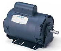 Leeson Single Phase Drip-Proof Resilient Base Fan & Blower Motors