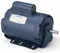 Leeson Resilient Base Single Phase Drip-Proof Instant Reversing Motors