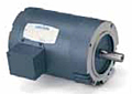 Leeson Three Phase C Face Less Base Drip-Proof Motors