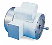 Leeson Single Phase TEFC C Face Less Base Washguard Motors