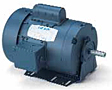 Leeson TEFC Single Phase Resilient Base Motors